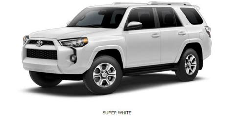 toyota runner exterior color options