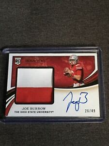 Joe Burrow 26/49 2020 Immaculate Collegiate Football 2 ...