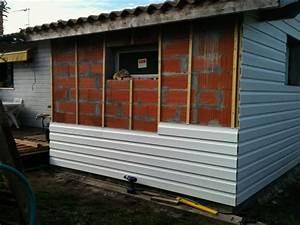 Pose de bardage pvc exterieur par atb renovation for Pose de bardage exterieur