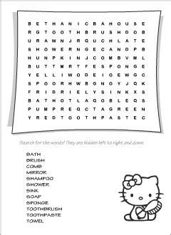 wordsearch puzzles printables  esl teachers  kids