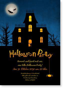 halloween gruselhaus halloween einladung