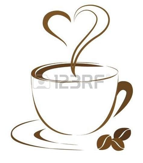 coffee steam outline clipart clipground