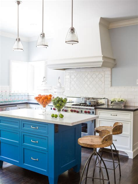kitchen island blue vintage kitchen islands pictures ideas tips from hgtv 1844