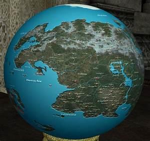 David Whitefang Nirn Globe At Oblivion Nexus