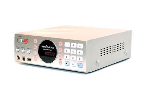megapro plus megasound karaoke disk player ms genesis
