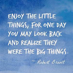 Enjoy The Little Things Quotes. QuotesGram
