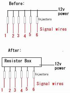 Injector Resistor Box Wiring    - Clublexus