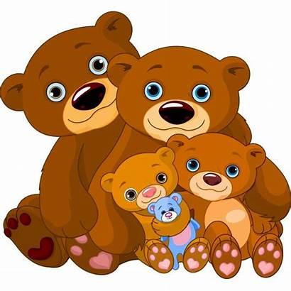 Bear Cuddly Cartoon Clipart Bears Teddy Emoticons