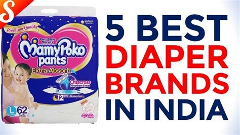 5 Best Diaper Brands In India With Price  Youtube