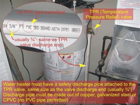 Water Heater Inspection Guidelines  Home Inspector Tips
