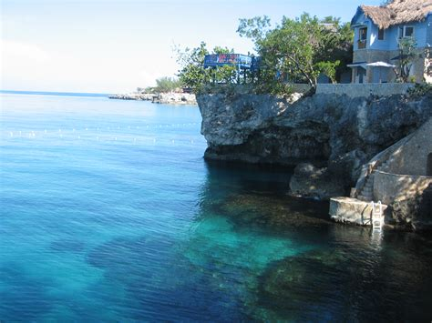 caves  negril jamaica cellophaneland