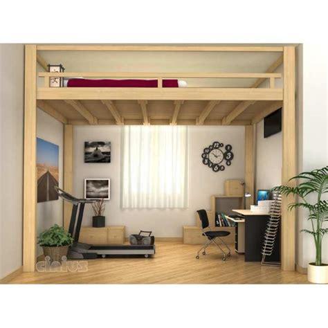 canape lit solde lit mezzanine escamotable électrique réglable en hauteur
