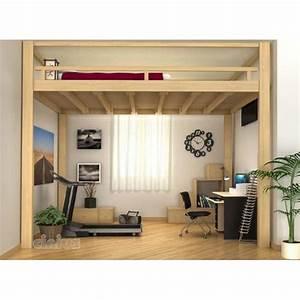 Echelle Pour Lit En Hauteur : lit mezzanine escamotable lectrique r glable en hauteur ~ Premium-room.com Idées de Décoration