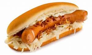 Hot Dog Brötchen : hot dog mit kraut salat rezept ~ Udekor.club Haus und Dekorationen