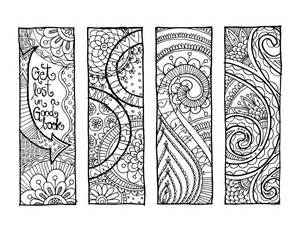 kpm doodles coloring page bookmarks