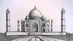 How to Draw the Taj Mahal Narrated Step by Step YouTube ...