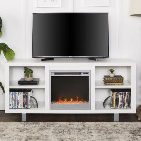 modern electric fireplace tv stand media console