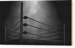 Classic Vintage Boxing Ring Digital Art by Allan Swart