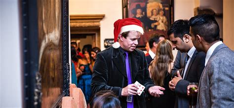 christmas party entertainment ideas for work party magician