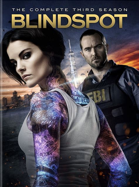 Blind Spot Season 3 DVD Cover