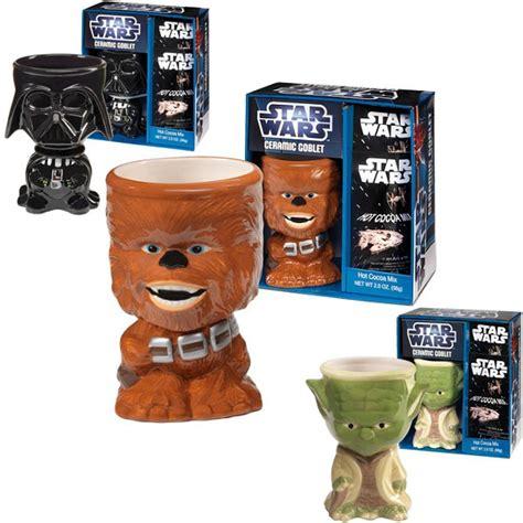 star wars ceramic goblets  hot cocoa mix