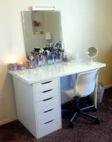 great ikea combo vanity desk via kaykre i have that same