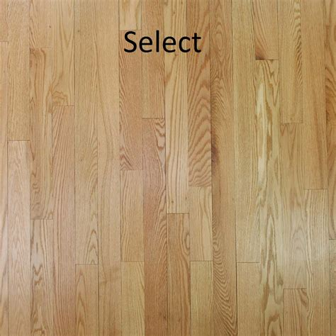 unfinished solid red oak  pc hardwood floors