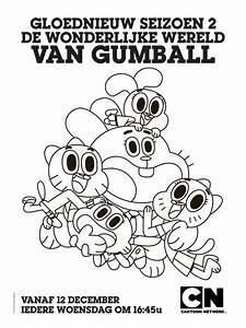 De Wonderlijke Wereld Van Gumball Kleurplaten Tickets Nu
