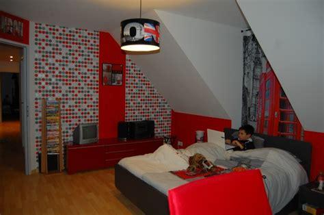 decoration chambre theme londres idée deco chambre londres