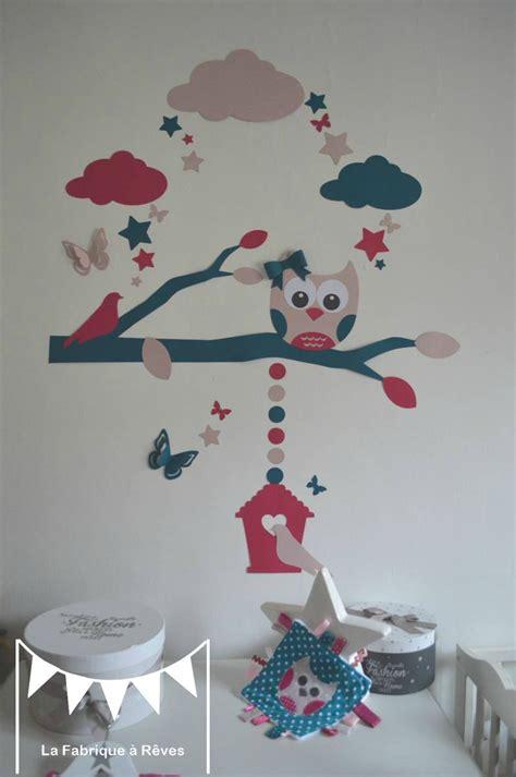 luminaire chambre bébé fille décoration chambre bébé et linge de lit hibou chouette