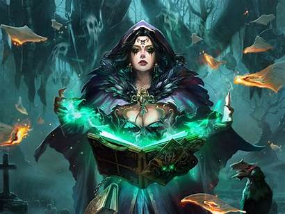 Cryptids Legend Witch Fantasy Wallpapers Background Woman
