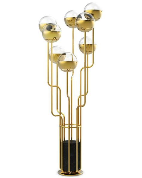 modern gold floor l modern black and gold floor lamps