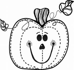 Pumpkin Clipart in Black And White – 101 Clip Art