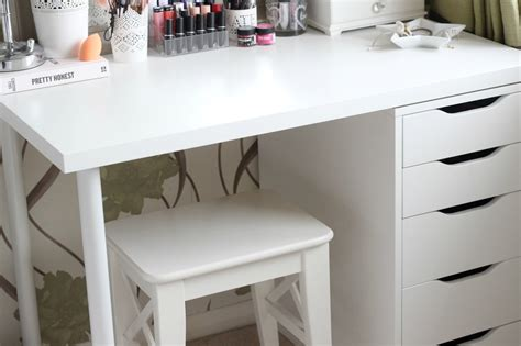 white makeup desk ikea 10 types makeup vanity desks serpden