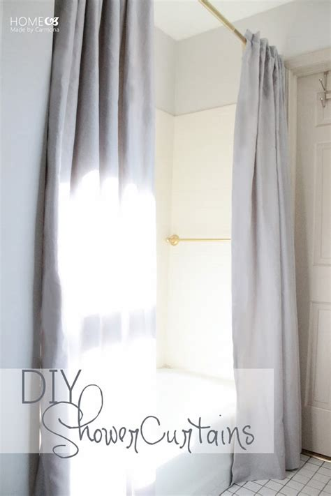diy shower curtain take it from the pros view along the way diy curtains