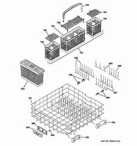 Ge Model Pdwt580r30ss Dishwasher Genuine Parts
