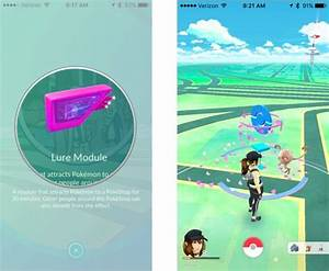 how place lure pokemon go