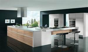 Moderne Küchen 2017 : moderne k chen mit theke ~ Michelbontemps.com Haus und Dekorationen