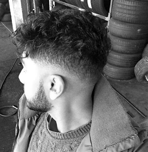 25 curly fade haircuts for manly fro hairstyles