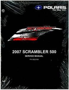 2007 Polaris Scrambler 500 Service Manual