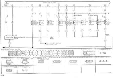 mazda 323 ecu wiring diagram wiring diagram