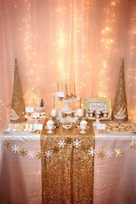 christmas christmasholiday party ideas gold christmas