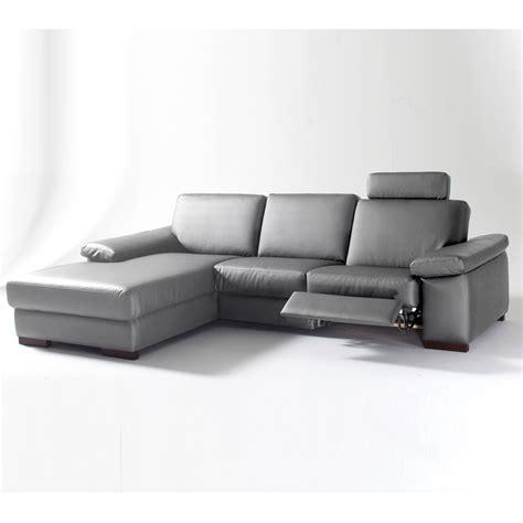canapé d 39 angle gauche 1 place relaxation manuel hamilton