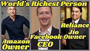 14.82 MB | Top 10 Richest People In The World 2018 List ...