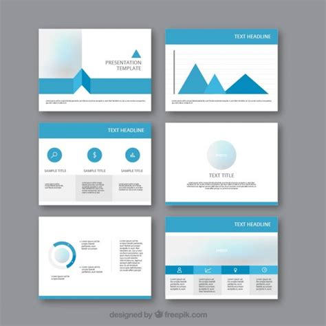 Stylish Business Presentation Template Vector  Free Download