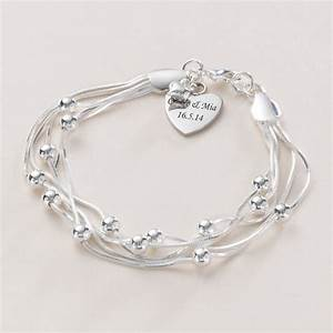 Beautiful Personalised Bracelet with Engraving | Jewels 4 ...