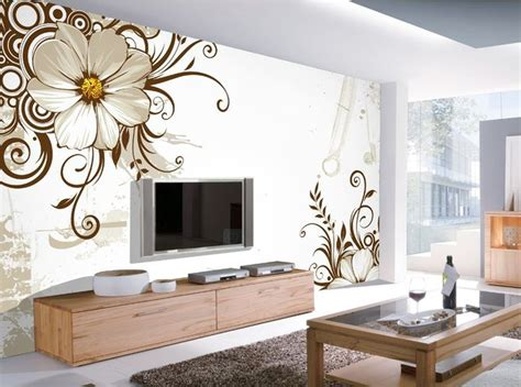 wallpapers in home interiors 12 3d wallpaper for tv wall units that will a
