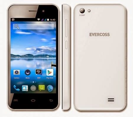 Evercoss A5T Smartphone KitKat Harga 500 Ribuan Majalah
