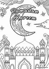Ramadan Coloring Printable Eid Kinder Sheets Kleurplaat Malvorlagen Mubarak Worksheets Activities Crafts Kareem Ramadanrecepten Colouring Islam Kleurplaten Zum Voor Islamic sketch template