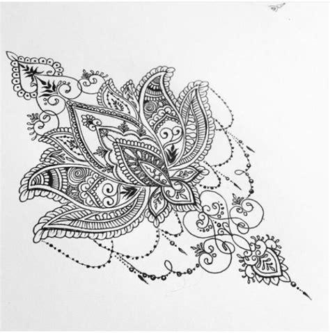 lotus flower mandala design tattoo ideas pinterest